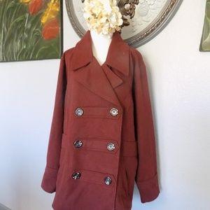 ef7be675bb0 Dollhouse Jackets   Coats - Plus Size Winter Pea Coat